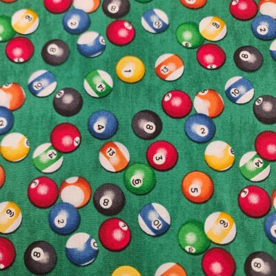 Patchworkstoff Billiardkugeln